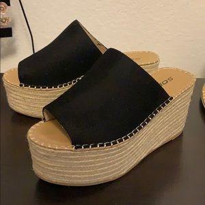 SODA Platform Sandals